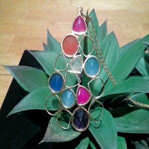 Argento Vivo Gold Sterling long necklace